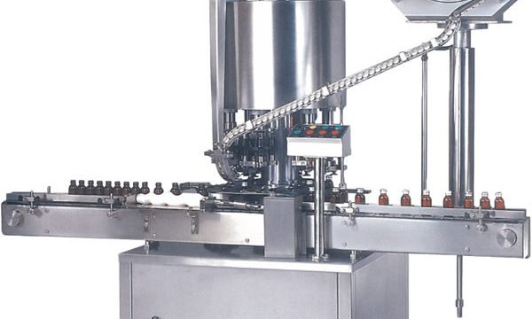 Burua Multi ROPP Cap Capping Machine / Bottle Cap Sealing Machine
