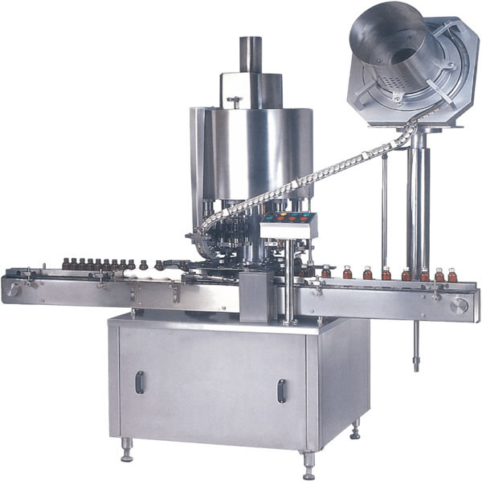 Burua Multi ROPP Cap Capping Machine / Bottle Cap Sealing Machine