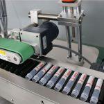 Injekzio automatiko horizontaleko bidoia etiketatzeko makina