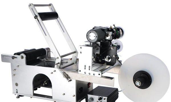 Botila biribilkatzeko makina erdi automatikoa