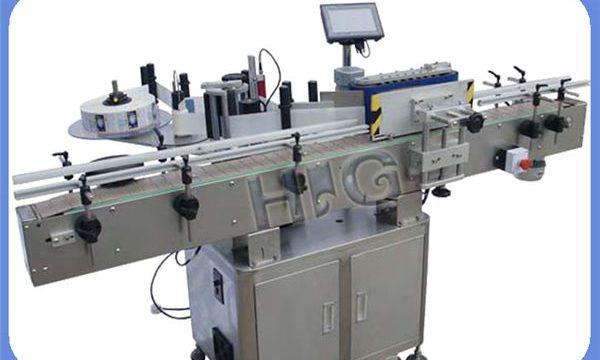 Inprimagailuarekin NPACK botila biribilen fabrikazio automatikoa